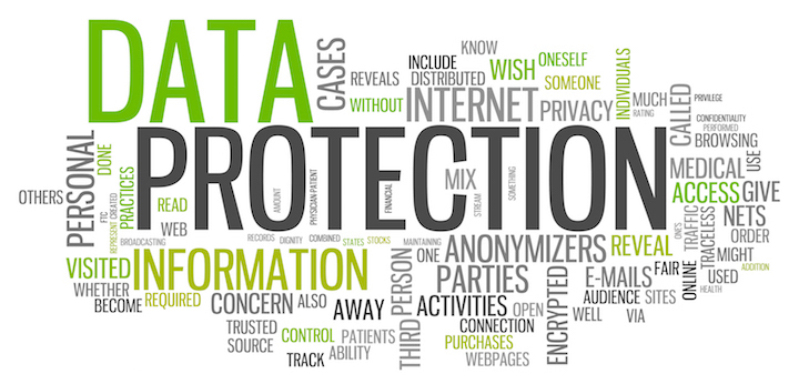 Word Cloud Data Protection