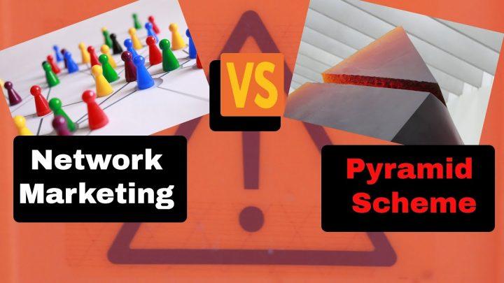Мрежови маркетинг vs Пирамидална схема