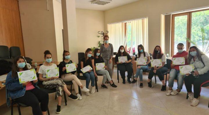 Обучение на доброволци на Превантивно-информационен център за борба с наркотичните вещества – гр. Ловеч